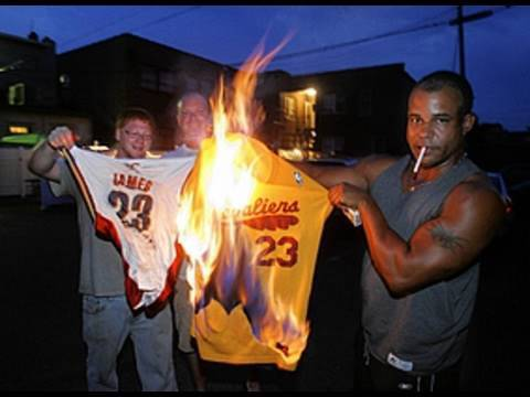 Why do you hate lebron james?