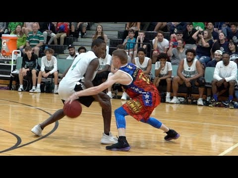 The professor vs real hoopers... damages ankles & egos(court kingz game)