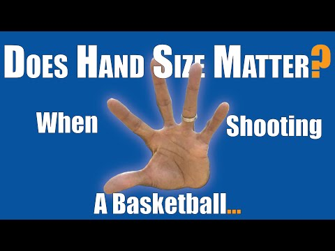 Does hand size matter: when shooting a basketball