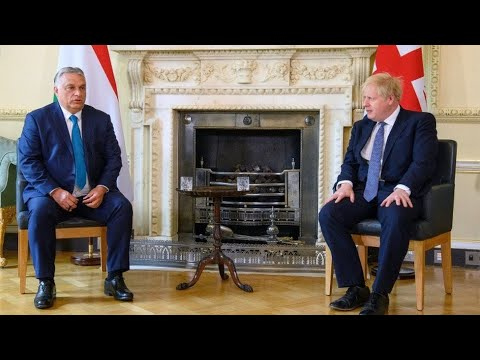Hungarian pm orban defends anti migrant remarks on uk visit