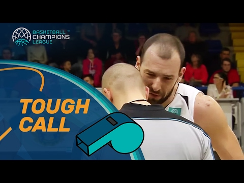 Tough call gameday 8: faking a foul by a player in the act of shooting