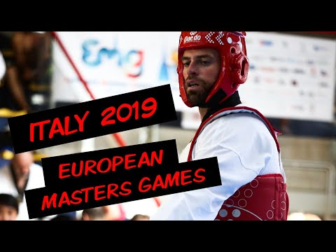 My trip to italy!! - european masters games 2019