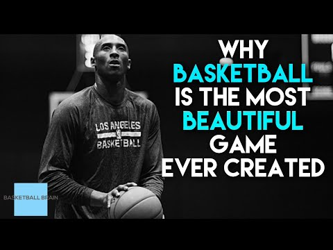 Why basketball is the most beautiful game in the world...