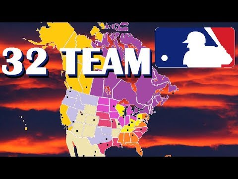 32 team mlb expansion and realignment proposal
