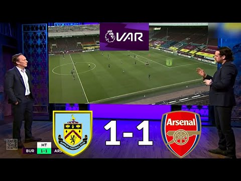 Burnley 1-1 arsenal   post match analysis   the gunners unhappy with var again