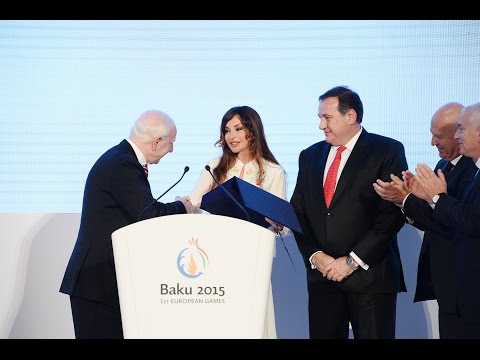 Presentation of the baku-2015 first european games took place in the city of rome