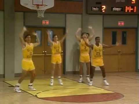 The fresh prince of bel air - basketball scenes