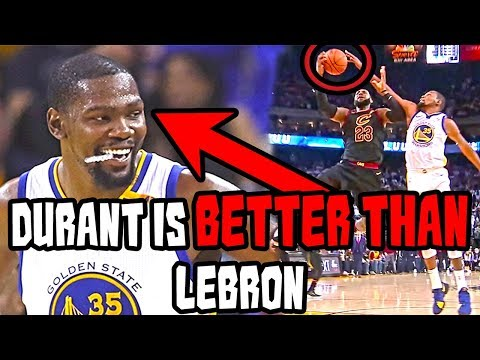 Why kevin durant is better than lebron james right now