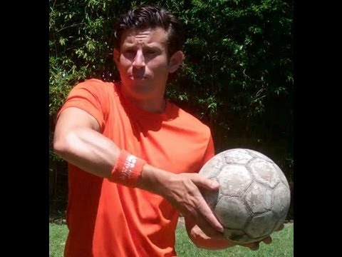 Hand roll soccer juggling pick up trick - online soccer academy