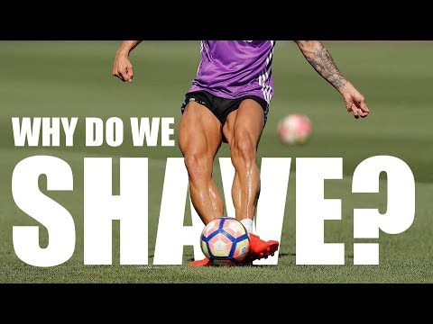 Why do pro soccer players shave their legs?