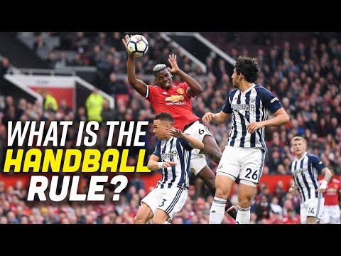 What is the handball rule in soccer!? | explained in under 3 minutes