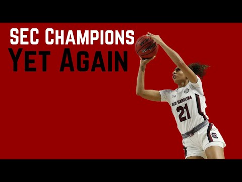 South carolina women basketball won the 2021 sec tournament for second year in a row