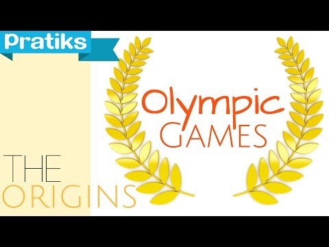 Olympic games : the origins