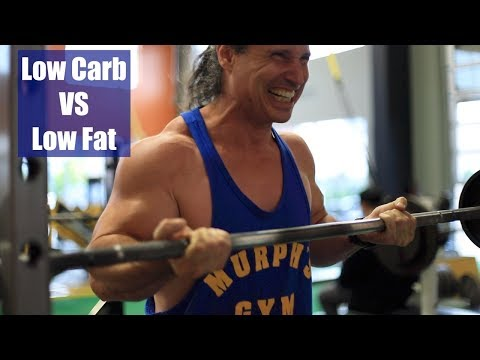 Low carb or low fat, which is better for bodybuilding?