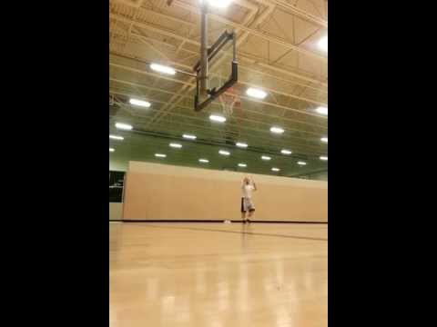 Belly fat hack - lost 20 lbs by playing basketball - hussle shots