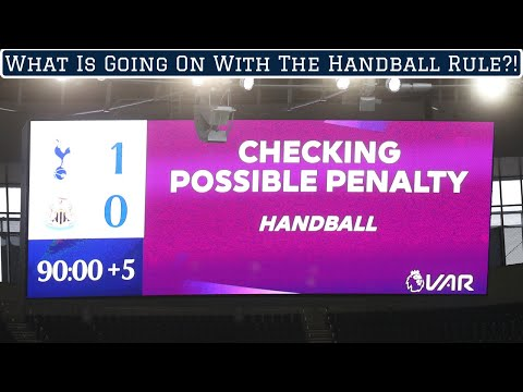What is going on with the handball law?!