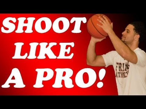 How to shoot a basketball perfectly!