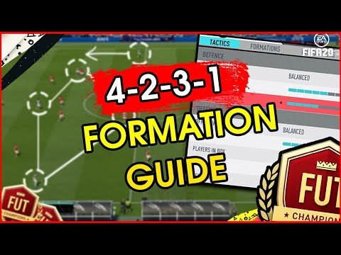 Fifa 20 4231 custom tactics | how to play 4231 | best formation in fifa 20?! |fut 20 formation guide