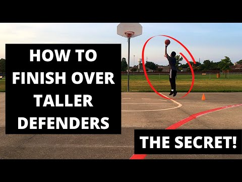 How to finish over taller defenders as a smaller player - 3 drills that will help #unguardable
