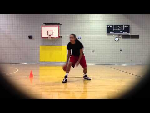 Briana green workout video female basketball player amazing handles