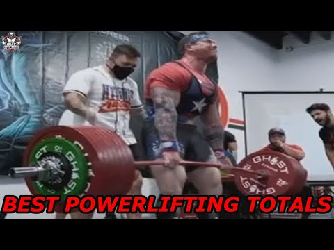 Best raw totals in powerlifting in the weight classes -67,5kg ... 140kg