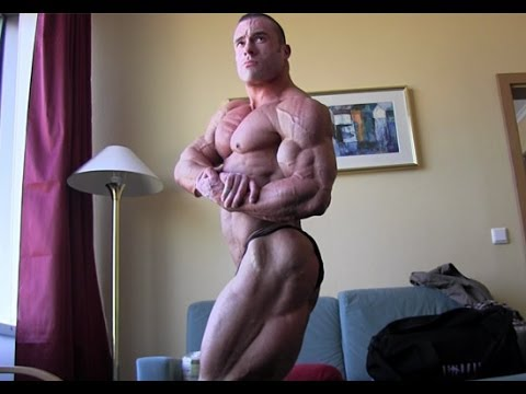 Roman fritz - interview and posing 1 day prior to amateur olympia prague 2014