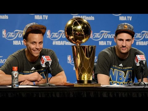 Klay thompson trolls lebron, says stephen curry is the best player in the world