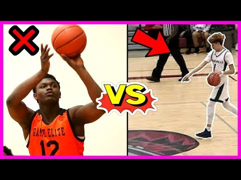 Why zion williamson will suffer in college!! zion can't shoot like lamelo ball!!