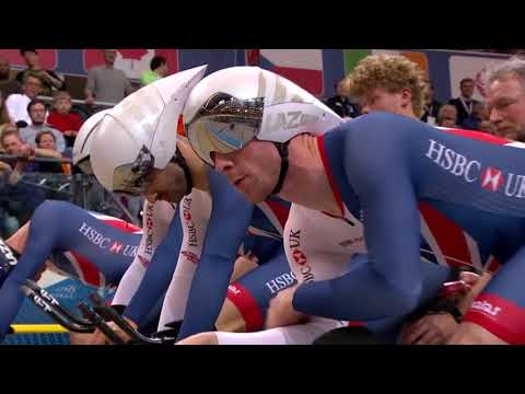 Men's team pursuit finals - 2018 uci track cycling world championships