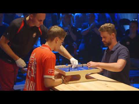 Klask world championship 2018 - finals with top 8 players!
