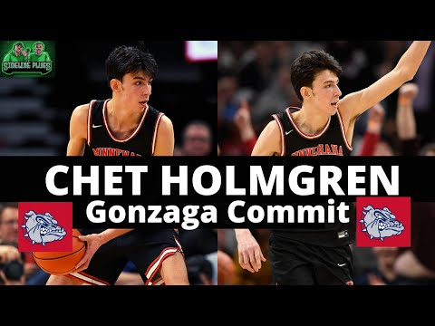 How good will chet holmgren be in college? | chet holmgren commits to gonzaga