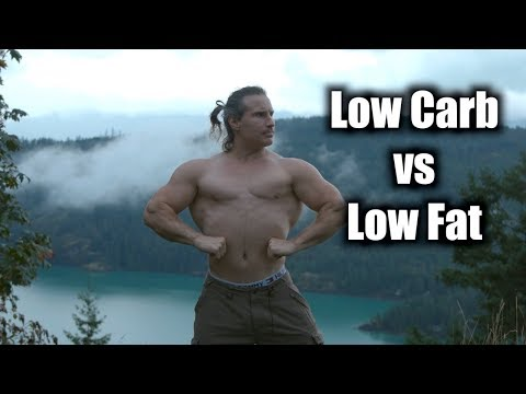 Low carb vs low fat for cutting