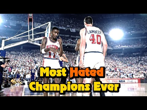 The truth about the bad boys: 1980s detroit pistons