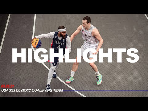 Highlights // usa moves on in olympic qualifying play