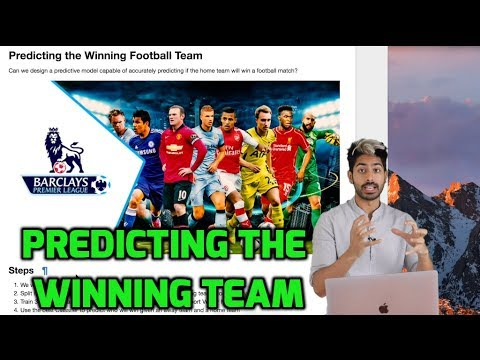 Predicting the winning team with machine learning