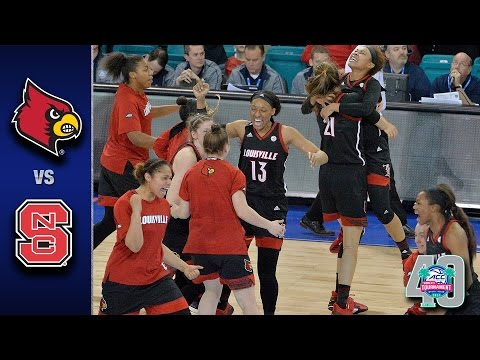 Louisville vs. nc state 2017 acc women's tournament highlights