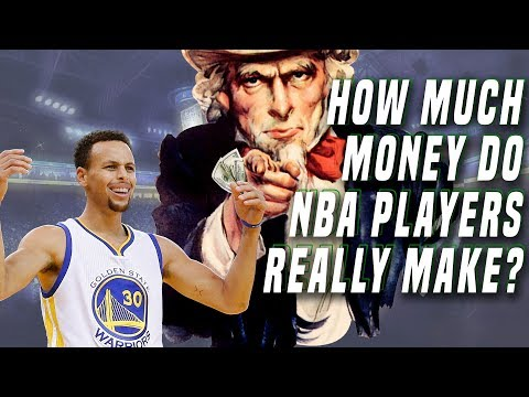 How much money do nba players really make? 👀
