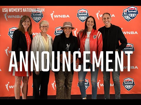 Usa basketball announces women's national team expanded program // press conference