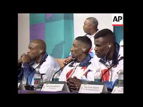 Usa: olympics 96: us dream team ready to take home gold again