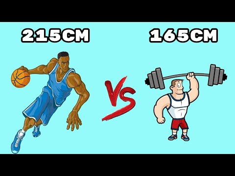 Will playing basketball make you taller, or will lifting weights make you shorter?
