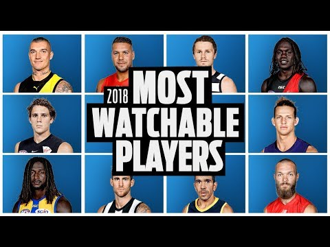 Who is the most watchable afl player?