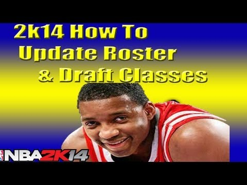 Nba 2k14 how to update roster & draft classes   get tracy mcgrady tutorial