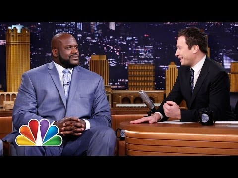 Shaquille o'neal wears enormous suits