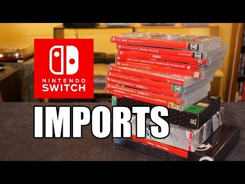 Nintendo switch import games - play physical games on usa switch!
