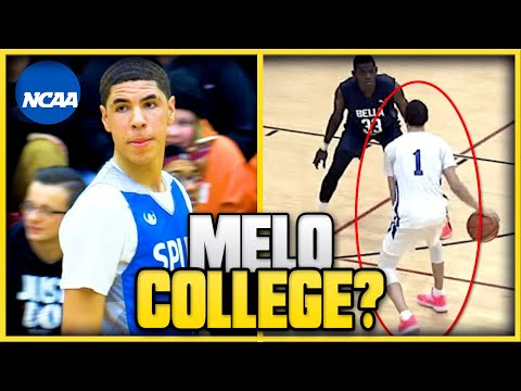 Is lamelo ball actually ineligible to play college basketball? | will melo play ncaa next year?