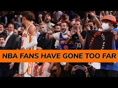 Nba fans have gone too far!!!