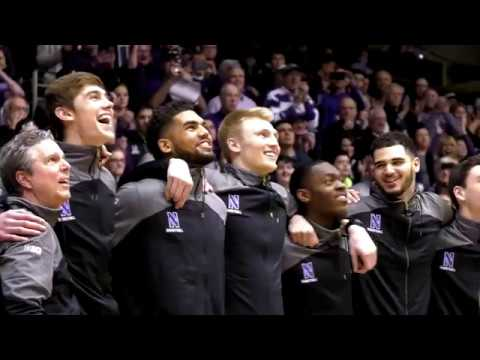 Watch: northwestern makes the ncaa tournament for first time in history