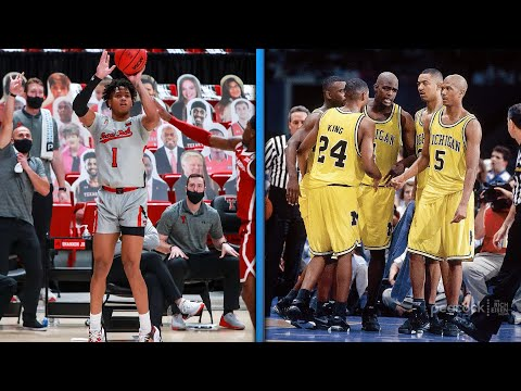 Michigan hc juwan howard is not down with the rising trend in hoops shorts | the rich eisen show