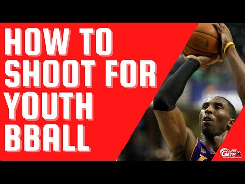 How to shoot youth basketball