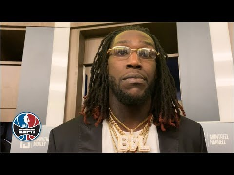 Montrezl harrell tired of clippers being disrespected by lakers fans in l.a.   nba sound